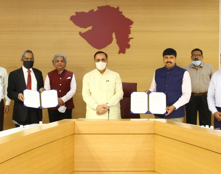 SIDBI joins hands with Government of Gujarat for the Development of MSME ecosystem in the State