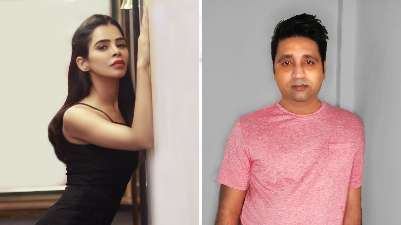 Famous music composer Teenu Arora and a popular model Nivedita Chandel have collaborated for the song Tere Bina