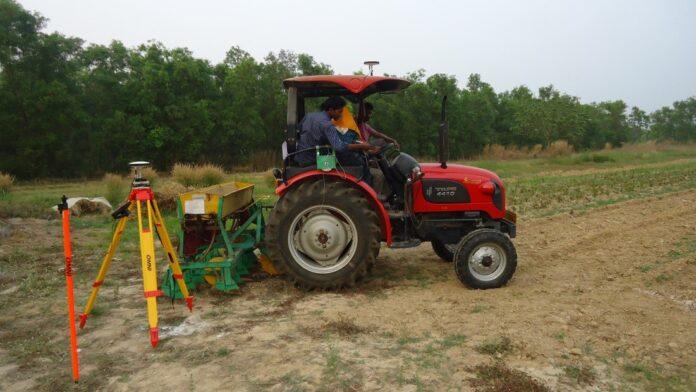 DGPS based technology to Improve fertilizer application