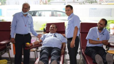 JBM Group organises its 3rd Blood Donation Camp for Thalassaemic Children
