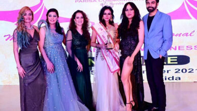 Student of Vah Vah!, Pouja Roy Wins Mrs India Contest